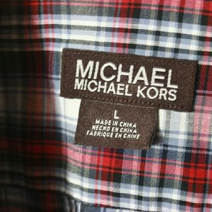 Michael Kors Large Casual Button Up